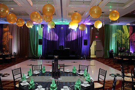 Electric Entertainment draping Picture