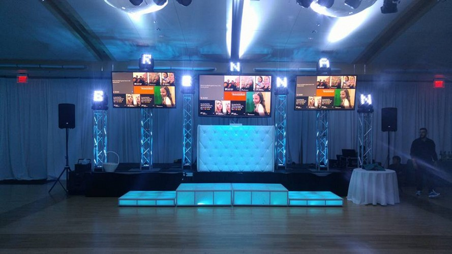 Dj And Stage Sets Electric Entertainment