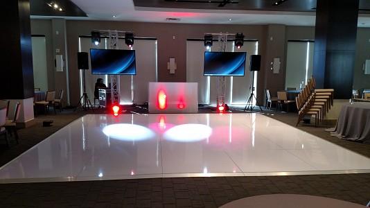 Electric Entertainment white-dance-floor Picture