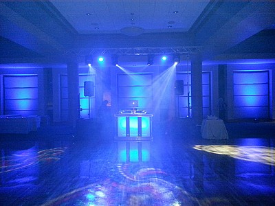 Electric Entertainment uplighting Picture